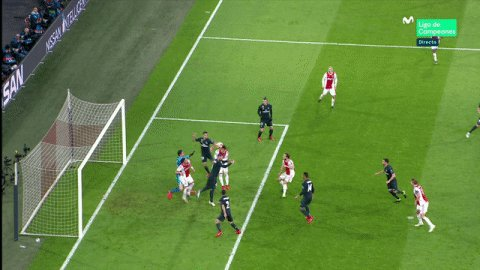 Gol anulado al Ajax. #ChampionsMLC