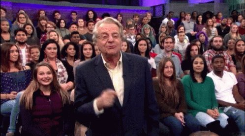 Happy 75th birthday to Jerry Springer today!