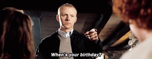 Happy birthday to the amazing Simon Pegg! Hot Fuzz is my go to cheery up film. What s your favourite?