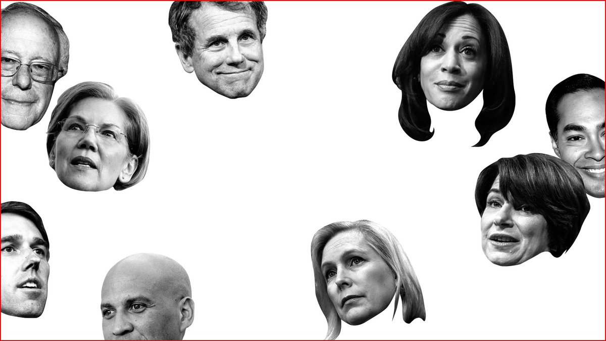 70 percent of Americans say they're in support of Medicare for All.  So where do the 2020 Democratic hopefuls stand? Let's find out http://bit.ly/2GFbupI