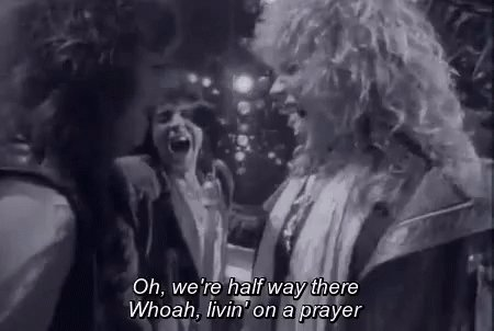 Happy Valentine's Day! Livin' on a Prayer reached no. 1 on the @billboard Hot 100 #onthisday in 1987. Watch the  video here 👉 http://youtu.be/lDK9QqIzhwk