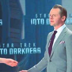 Happy birthday Simon Pegg!  *Alice Eve played with Simon in Star Trek Into Darkness and Big Nothing