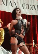 Who was 2 thumbs and is gonna meet Tim Curry this summer? Me. The answer is me.