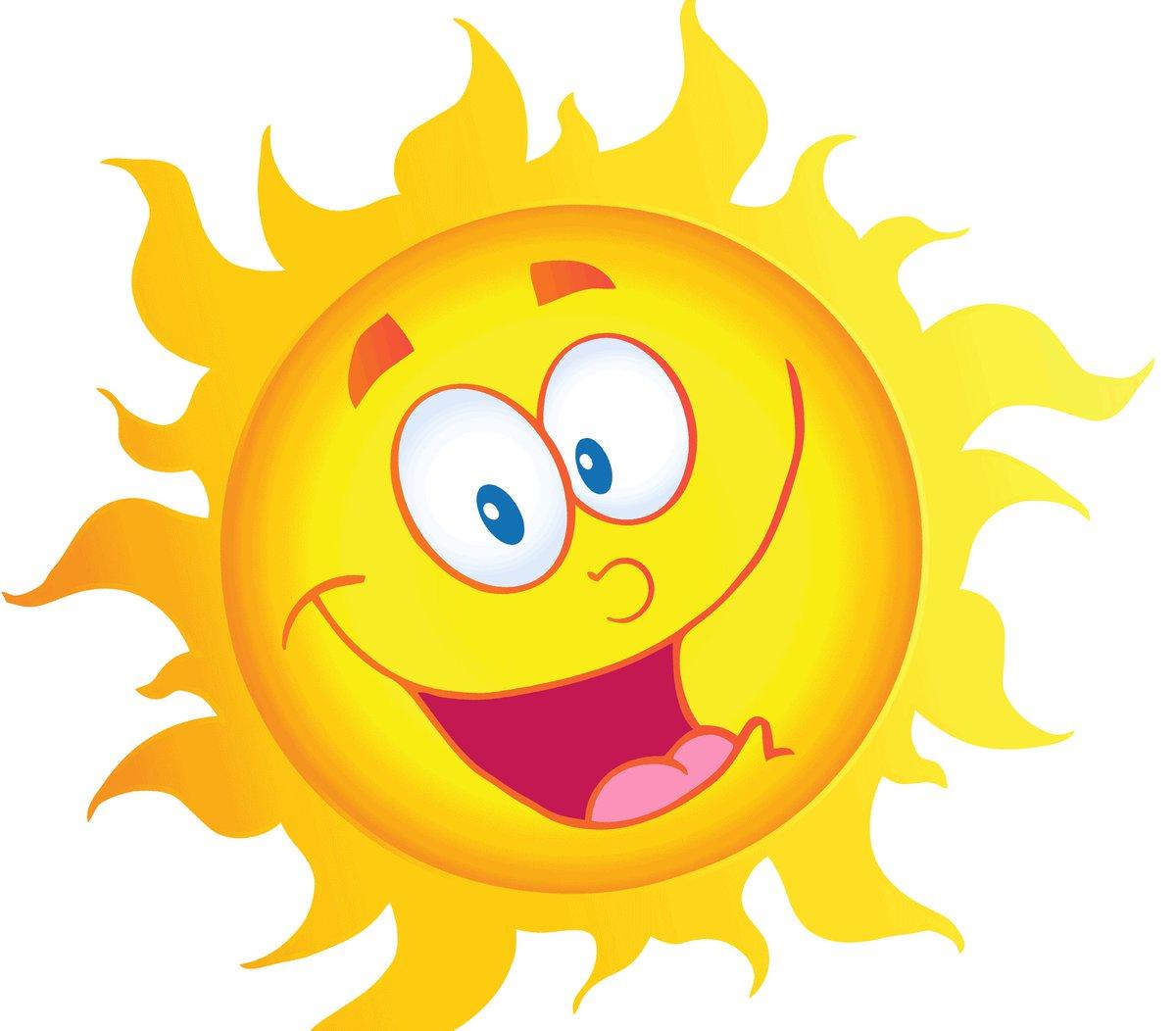 Солнце в смешных картинках