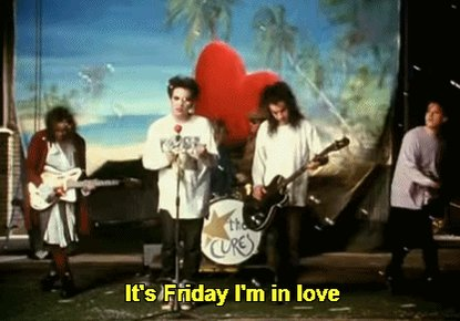 It's Friday! #TheCure @thecure