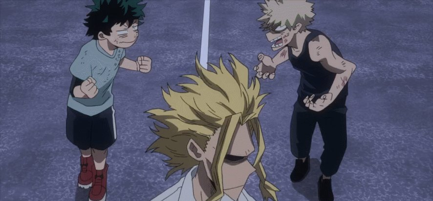 Man #MHA217 was a great chapter. So many things were being developed. Loved that we got Deku, Bakugo and All Might tea time.