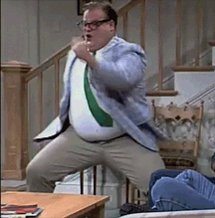 Happy birthday to the amazing, hilarious, fantastic Chris Farley today.  Still miss this funny guy.......