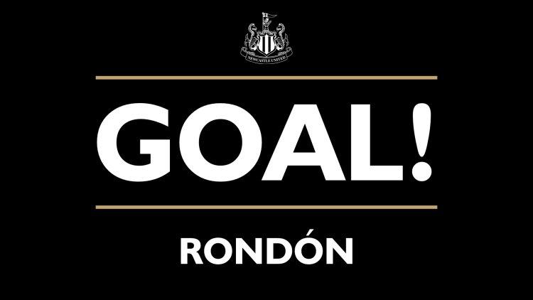 16' - GOAL! Newcastle United 1-0 CSKA Moscow (Rondón) #NUFC