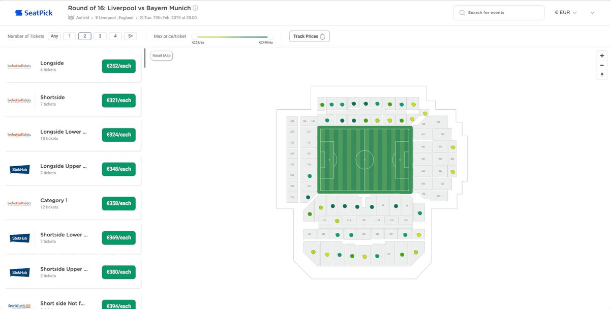 Liverpool v Bayern Munich tickets are still available, compare prices from safe sellers here: https://seatpick.com/round-of-16-liverpool-vs-bayern-munich-tickets/event/113929…  #liverpooltickets #lfc #lfctickets #BayernMunich #championsleague #liverpoolfc #Liverpoolfc