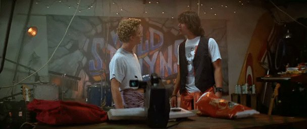 Image for the Tweet beginning: Party on, dude.  Stay excellent,
