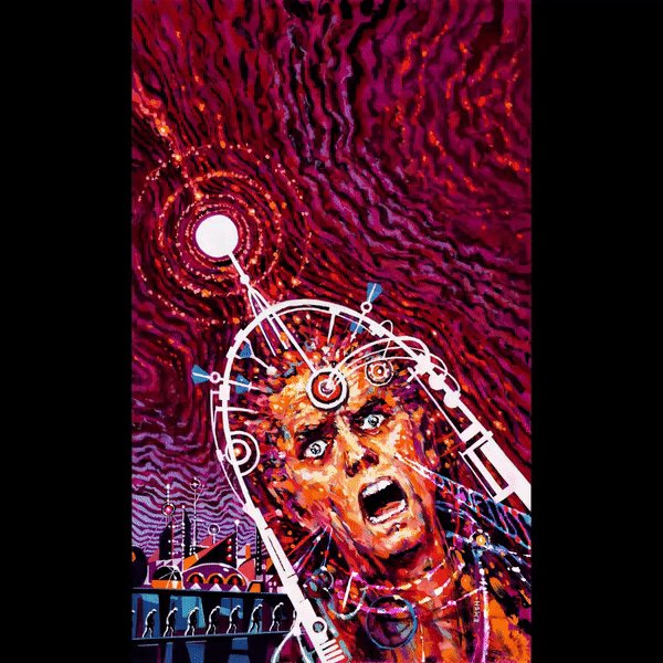 My animation for Ed Emshwiller's painting:  CURRENTS OF SPACE, 1963 #greggifs