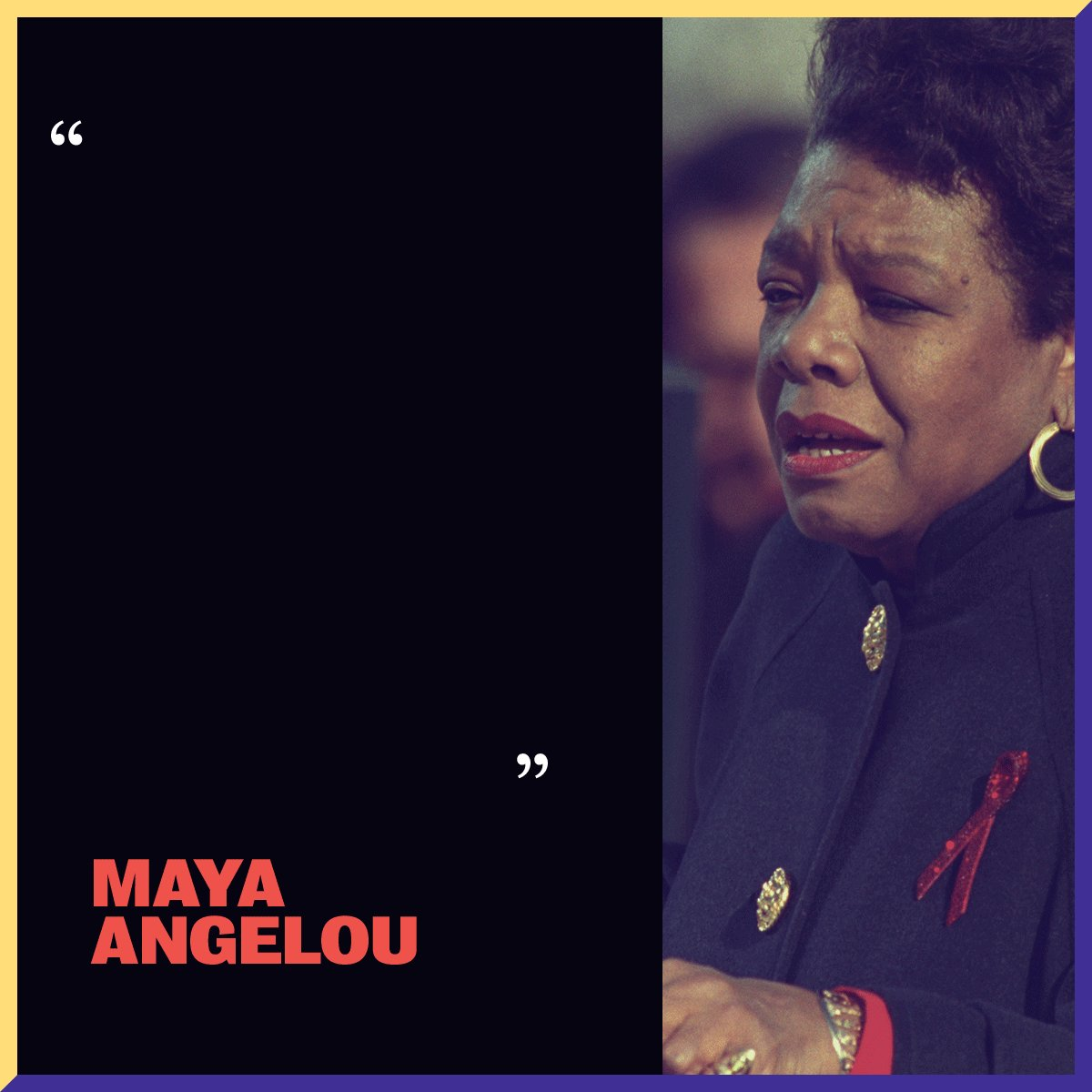 Civil rights leader and poet Maya Angelou had an immeasurable impact on the way I view the world and my place in it. While she encountered many hardships throughout her life, her words inspired generations to fight for freedom, equality, and justice.