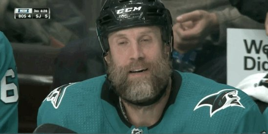 Brady Trettenero's photo on joe thornton