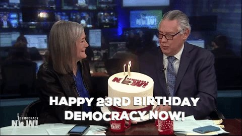 All donations to Democracy Now! today (on our birthday) will be matched 2:1, meaning they'll have three times the impact. When you give $10, it becomes $30 for the independent news hour you count on! Donate here: https://www.democracynow.org/donate/sp-20190219-twt…