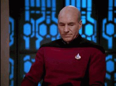 Star Trek Patrick Stewart GIF