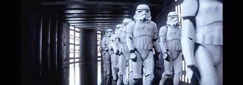 Heading Stormtrooper GIF