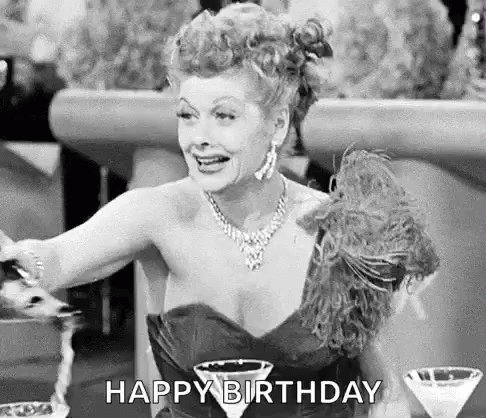 Oh Happy Birthday dear Liz! I m glad it s been such a good day