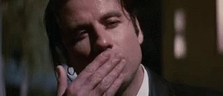 John Travolta Kiss GIF