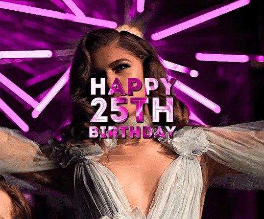 Happy 25th Birthday Zendaya!
