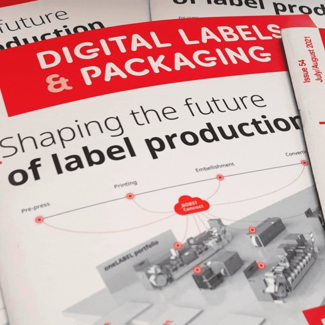 Image for the Tweet beginning: Latest Digital Labels & Packaging