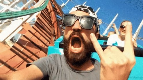 Rock And Roller Coaster Oriac GIF