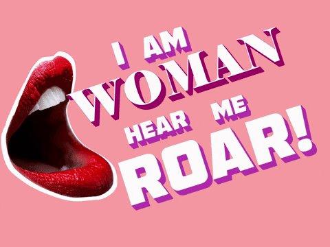 I Am Woman GIF by GIPHY Stu...