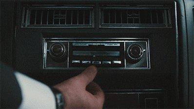 car radio hbo GIF by Vinyl