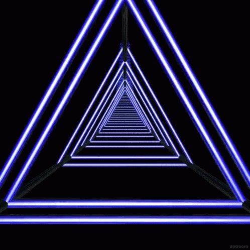 Hypnosis Pyramids GIF