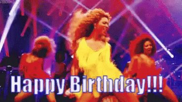 Happy birthday Mafia    You share a birthday with Beyoncé, special important people