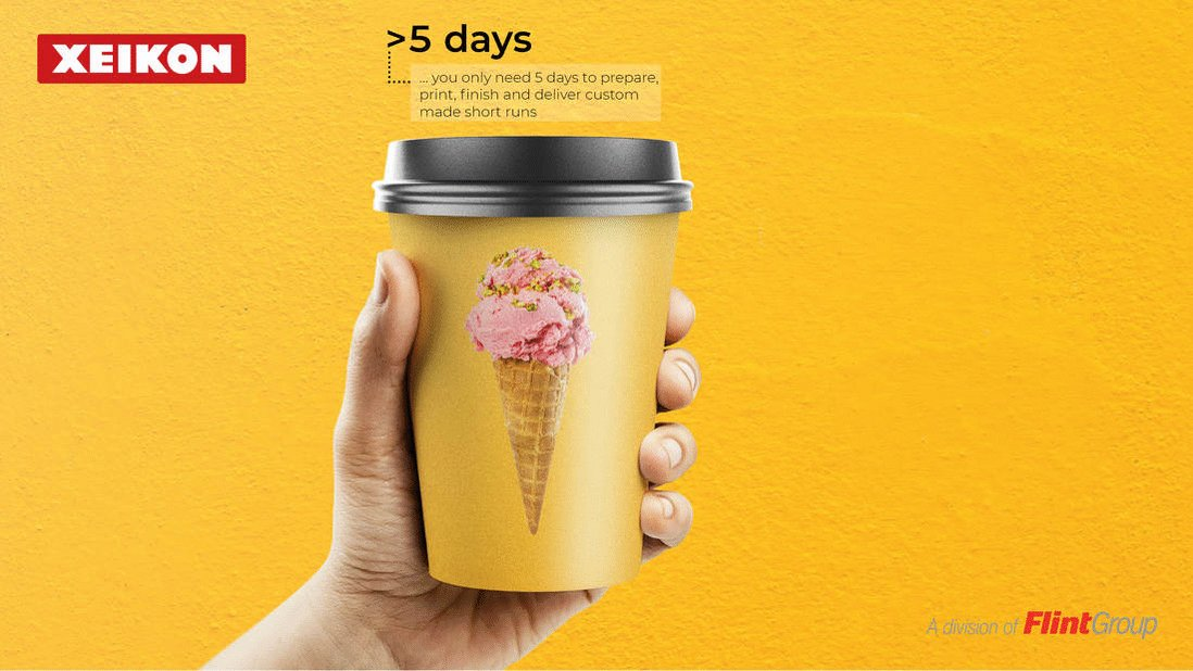 Image for the Tweet beginning: Digitally printed #PaperCups offer unlimited