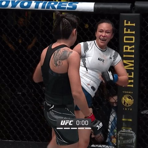 Round of applause 👏  These ladies left it all in the Octagon tonight! #UFCVegas26 https://t.co/LSZNvzBkQQ