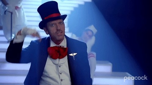 Hugh Laurie House GIF by Pe...