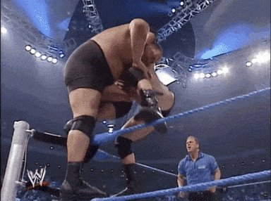 brock lesnar wow GIF by WWE
