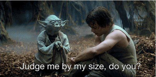 @peakyanakin I'm sure Darth Vader would disagree with this lesson from Yoda. https://t.co/bNYhUiBrQ7