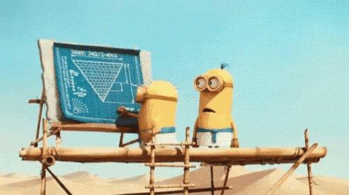 Minions Pyramid GIF