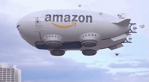 Amazon Drone GIF