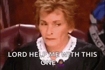 Lord Help Me Judge Judy GIF