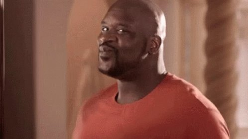 Shaquille ONeal Excited GIF