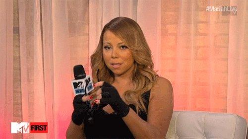 Mariah Carey Reading GIF