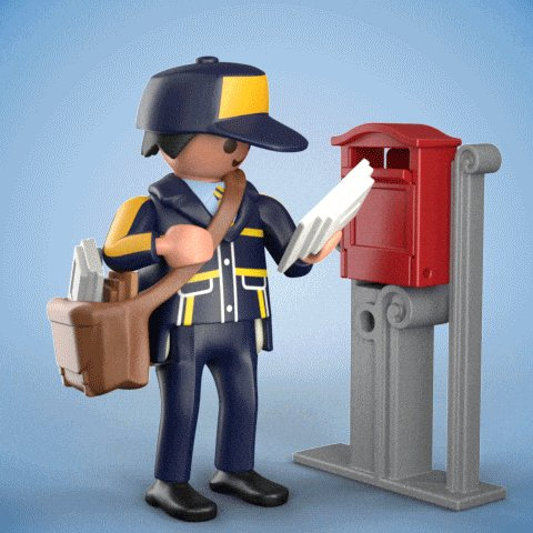 Send Youve Got Mail GIF by PLAYMOBIL
