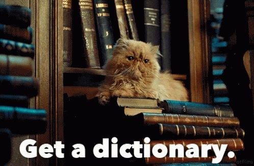 Get A Dictionary GIF