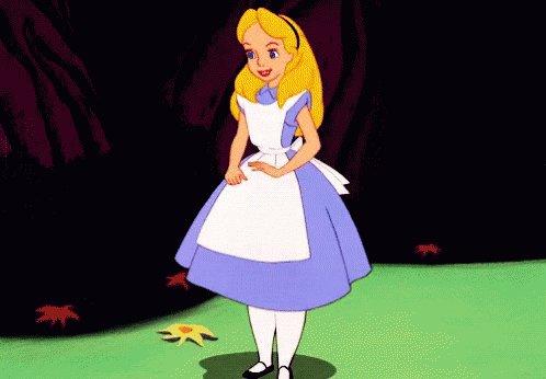 Curtsy Alice GIF