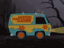 Scooby Doo Mystery Machine GIF