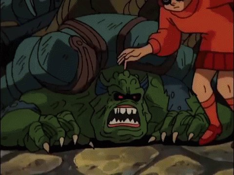Cartoon Monster GIF by Scooby-Doo