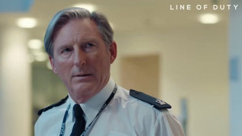 Line Of Duty Ted Hastings GIF