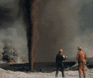 Oil Well Fire GIF