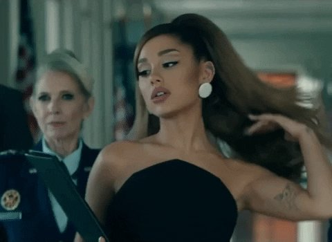 Style Hair Flip GIF by Ariana Grande