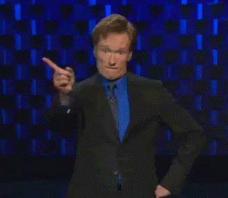 Conan Fingerwag GIF