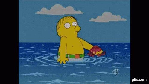 Ralph The Simpsons GIF