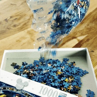 Excited Puzzle GIF by Ravensburger